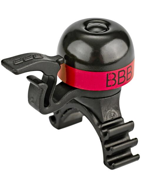 BBB MiniBell BBB-16 Klingel schwarz/rot